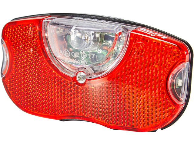 Busch + Müller Selectra Plus Dynamo Rear Light LED, red/black